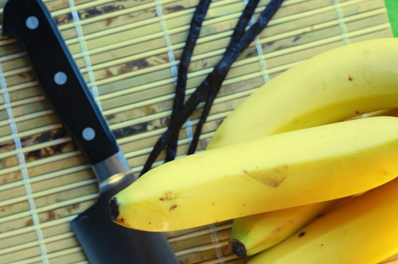 Bananlikør med vanille