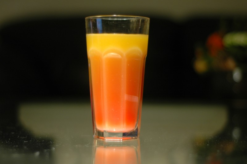 Brazilian Sunset – En Tequila Sunrise variant