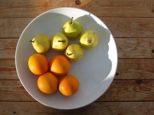 Pærelikør med appelsin