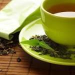 Grøn te sirup